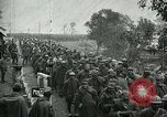 Image of Surrendering Italian troops after battle of Caporetto Italy, 1917, second 10 stock footage video 65675026033