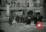 Image of Italian prisoners passing through Udine after battle of Caporetto Italy, 1917, second 5 stock footage video 65675026034