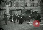 Image of Italian prisoners passing through Udine after battle of Caporetto Italy, 1917, second 6 stock footage video 65675026034
