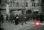 Image of Italian prisoners passing through Udine after battle of Caporetto Italy, 1917, second 7 stock footage video 65675026034