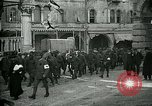 Image of Italian prisoners passing through Udine after battle of Caporetto Italy, 1917, second 9 stock footage video 65675026034
