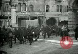 Image of Italian prisoners passing through Udine after battle of Caporetto Italy, 1917, second 12 stock footage video 65675026034