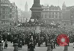 Image of Rally at Trafalgar Square advocating recognition of Soviet Russia London England United Kingdom, 1920, second 10 stock footage video 65675026039