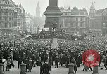 Image of Rally at Trafalgar Square advocating recognition of Soviet Russia London England United Kingdom, 1920, second 11 stock footage video 65675026039