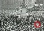 Image of Rally at Trafalgar Square advocating recognition of Soviet Russia London England United Kingdom, 1920, second 12 stock footage video 65675026039