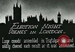 Image of Crowds gather to learn results of general elections London England United Kingdom, 1924, second 7 stock footage video 65675026041