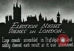 Image of Crowds gather to learn results of general elections London England United Kingdom, 1924, second 8 stock footage video 65675026041
