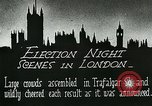 Image of Crowds gather to learn results of general elections London England United Kingdom, 1924, second 10 stock footage video 65675026041