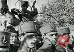 Image of Mustafa Kemal Pasha (Ataturk) is feted by the populace Ismir Turkey, 1923, second 5 stock footage video 65675026043