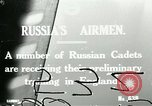 Image of Russian Air cadets train in England England, 1917, second 1 stock footage video 65675026045