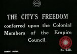 Image of Colonial officials arrive to receive Freedom of the City of London London England United Kingdom, 1917, second 5 stock footage video 65675026046