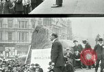 Image of British war veterans demonstrate London England United Kingdom, 1919, second 2 stock footage video 65675026050