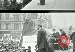 Image of British war veterans demonstrate London England United Kingdom, 1919, second 3 stock footage video 65675026050