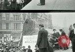 Image of British war veterans demonstrate London England United Kingdom, 1919, second 4 stock footage video 65675026050
