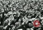 Image of British war veterans demonstrate London England United Kingdom, 1919, second 9 stock footage video 65675026050