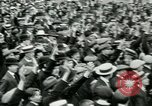 Image of British war veterans demonstrate London England United Kingdom, 1919, second 10 stock footage video 65675026050