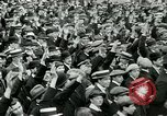 Image of British war veterans demonstrate London England United Kingdom, 1919, second 11 stock footage video 65675026050