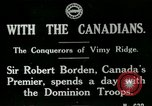 Image of Canadian Army troops in World War 1 United Kingdom, 1917, second 1 stock footage video 65675026055