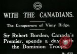 Image of Canadian Army troops in World War 1 United Kingdom, 1917, second 2 stock footage video 65675026055