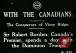 Image of Canadian Army troops in World War 1 United Kingdom, 1917, second 3 stock footage video 65675026055