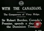 Image of Canadian Army troops in World War 1 United Kingdom, 1917, second 4 stock footage video 65675026055