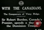 Image of Canadian Army troops in World War 1 United Kingdom, 1917, second 6 stock footage video 65675026055