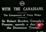 Image of Canadian Army troops in World War 1 United Kingdom, 1917, second 7 stock footage video 65675026055
