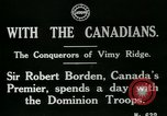 Image of Canadian Army troops in World War 1 United Kingdom, 1917, second 8 stock footage video 65675026055