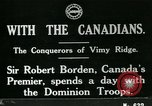 Image of Canadian Army troops in World War 1 United Kingdom, 1917, second 9 stock footage video 65675026055