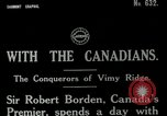 Image of Canadian Army troops in World War 1 United Kingdom, 1917, second 11 stock footage video 65675026055