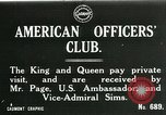 Image of King George V visits American officers club United Kingdom, 1917, second 1 stock footage video 65675026056