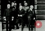 Image of King George V visits American officers club United Kingdom, 1917, second 9 stock footage video 65675026056