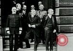 Image of King George V visits American officers club United Kingdom, 1917, second 10 stock footage video 65675026056