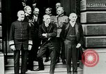 Image of King George V visits American officers club United Kingdom, 1917, second 11 stock footage video 65675026056