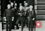Image of King George V visits American officers club United Kingdom, 1917, second 12 stock footage video 65675026056