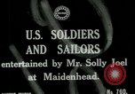 Image of American soldiers off duty entertainment World War 1 Maidenhead England, 1918, second 5 stock footage video 65675026057