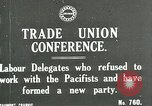 Image of trade union conference London England United Kingdom, 1917, second 1 stock footage video 65675026058