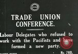 Image of trade union conference London England United Kingdom, 1917, second 2 stock footage video 65675026058
