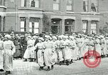Image of women workers London England United Kingdom, 1918, second 6 stock footage video 65675026059