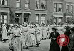 Image of women workers London England United Kingdom, 1918, second 10 stock footage video 65675026059
