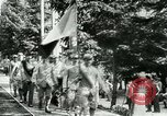 Image of Unfit French soldiers return home World War 1 Switzerland, 1917, second 10 stock footage video 65675026061