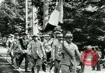 Image of Unfit French soldiers return home World War 1 Switzerland, 1917, second 11 stock footage video 65675026061
