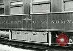 Image of U.S. Army Ambulance Train World War I United States USA, 1917, second 10 stock footage video 65675026062