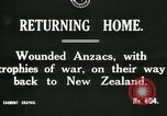 Image of World War I Anzac soldiers of New Zealand return home United Kingdom, 1917, second 2 stock footage video 65675026067