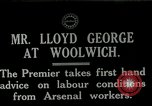 Image of David Lloyd George Woolwich London England, 1917, second 1 stock footage video 65675026068