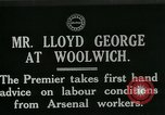 Image of David Lloyd George Woolwich London England, 1917, second 3 stock footage video 65675026068
