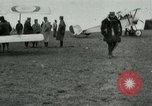 Image of French Nieuport 11 aircraft in World War I Verdun France, 1916, second 4 stock footage video 65675026069