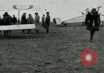 Image of French Nieuport 11 aircraft in World War I Verdun France, 1916, second 5 stock footage video 65675026069