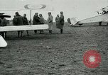 Image of French Nieuport 11 aircraft in World War I Verdun France, 1916, second 7 stock footage video 65675026069