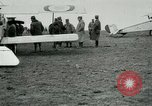 Image of French Nieuport 11 aircraft in World War I Verdun France, 1916, second 8 stock footage video 65675026069